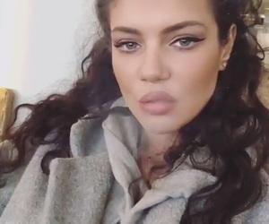 curly, model, and principessa image