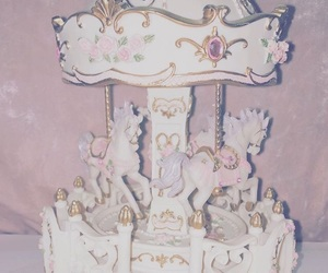 aesthetic, carousel, and pastel image
