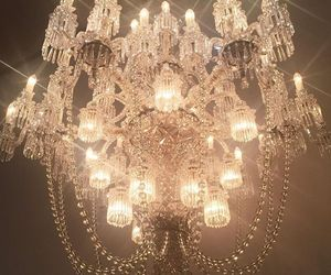 chandelier, aesthetic, and luxury image
