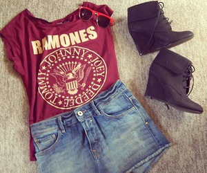fashion, ramones, and outfit image