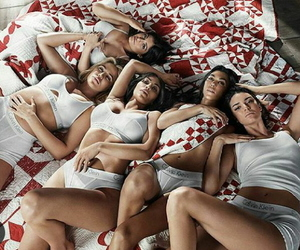 Calvin Klein, fashion, and sisters image