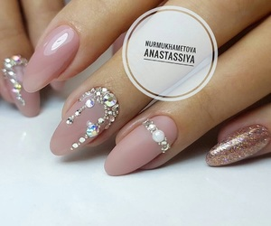 beautiful, Nude, and nails image