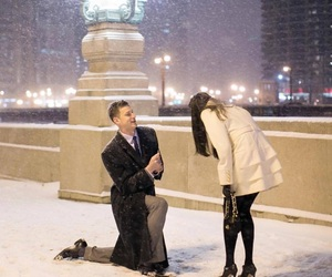 couple, goals, and proposal image