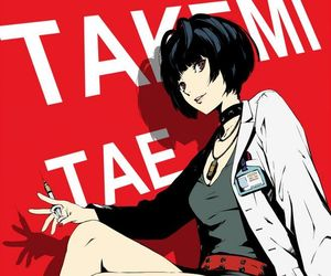 persona 5 and takemi tae image