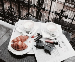 beauty, city, and croissants image