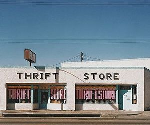 store, thrift store, and vintage image