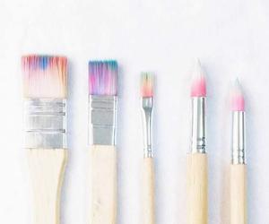 brush, colorful, and minimal image