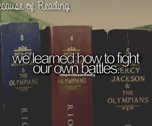 fight and because of reading... image