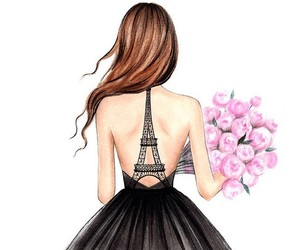 etsy, dorm room decor, and eiffel tower print image