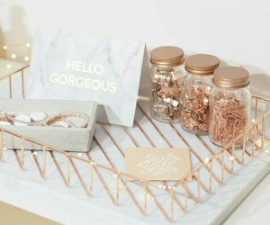 decor and rose gold image