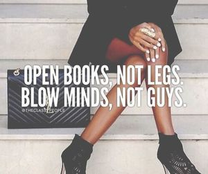 books, quotes, and woman image