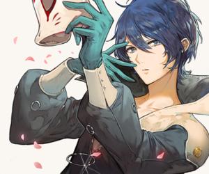 persona5 and yusuke kitagawa image