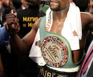 boxing, floyd mayweather, and wbc image