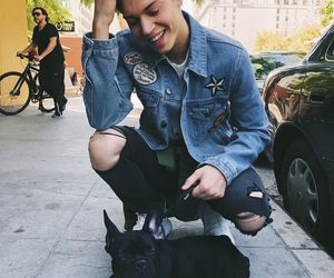 dog, puppy, and ricky garcia image