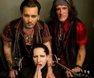 actor, depp, and Devil image