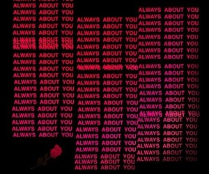 red, aesthetic, and quotes image