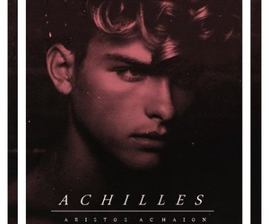 achilles, book, and red image