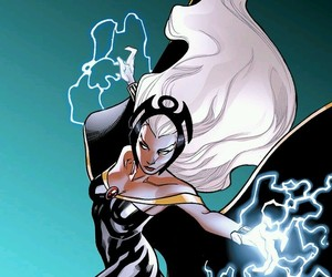 girl power, Marvel, and storm image
