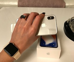 accessories, apple, and beauty image