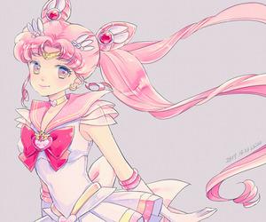 anime, sailor moon, and sailor chibi moon image