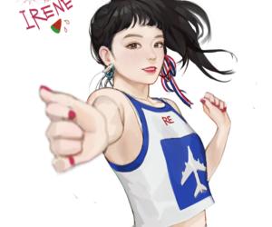 irene, fanart, and kpop image