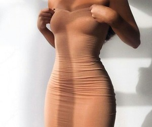 body, dress, and girl image