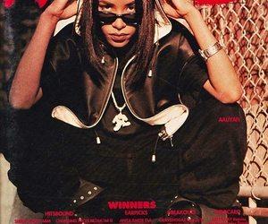 90s, aaliyah, and actress image