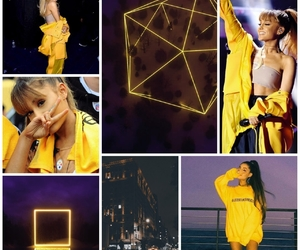 show, grande, and yellow image
