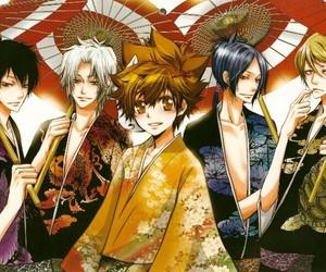 gokudera, vongola, and katekyo hitman reborn image