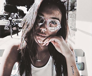 girl, alexis ren, and glasses image
