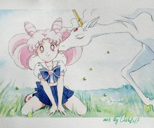ash, sailor moon fanart, and pegasus image