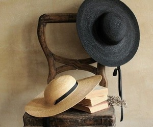 book and hat image