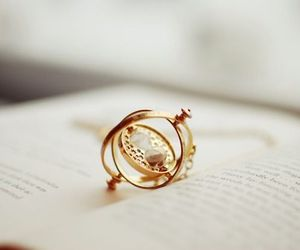 book, harry potter, and time turner image