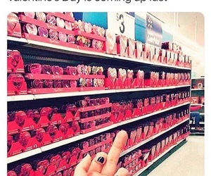 candy, valentines day, and no thanks image