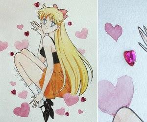 ash, haruka tenoh, and princess serenity image