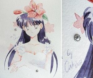 ash, haruka tenoh, and minako aino image