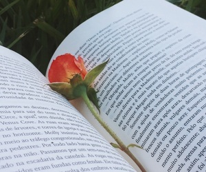 book, flor, and flower image