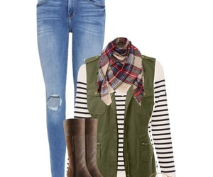 boots, outfit, and preppy image
