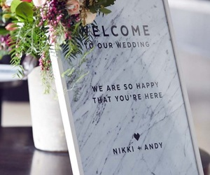 marble, dream wedding, and wedding inspo image