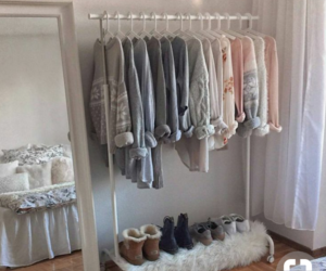 fashion, room, and clothes image