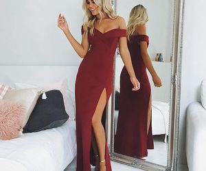 evening dress, 2018 prom dresses, and prom dress image