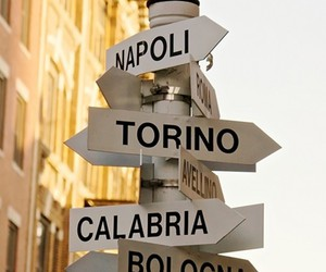 Naples, italy, and sign image