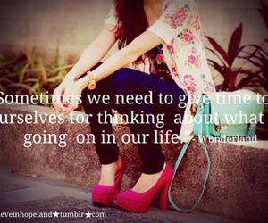 girls, quotes, and wonderland image