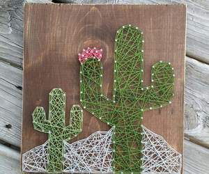 diy, cactus, and green image