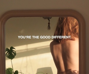 aesthetic, girl, and quotes image