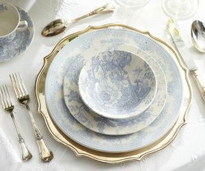 blue, fancy, and plate image