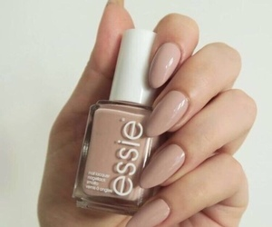 nails, Nude, and essie image