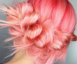 blonde, blush, and braid image