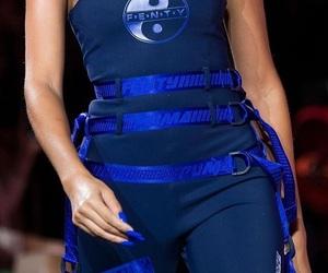 fashion, blue, and fenty image