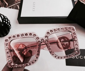 gucci, sunglasses, and pink image